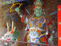 Chinese Baodu Zhai�God statue Royalty Free Stock Photo