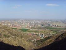 Chinese Baodu Zhai-Distant city Stock Photo