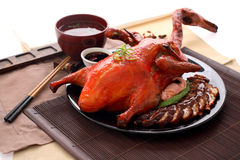 Chinese BBQ Roasted Duck Stock Image