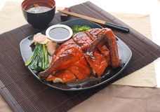 Chinese BBQ Roasted Duck Royalty Free Stock Photography