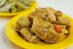Chinese bean curd delicacy Stock Photography