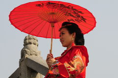 Chinese beauty in Suzhou Royalty Free Stock Image