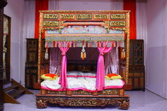Chinese Traditional Bed Room Stock Images