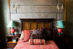 Chinese bedroom royalty free stock photography