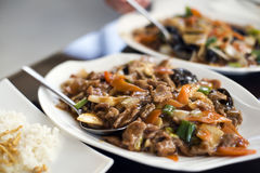 Chinese beef Stock Photography