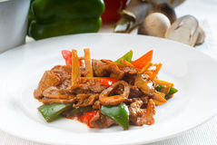 Free Chinese Beef And Vegetables Royalty Free Stock Image - 15264476