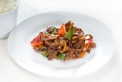 Free Chinese Beef And Vegetables Royalty Free Stock Photo - 15719215