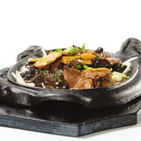 Chinese - Beef with Asparagus Stock Image
