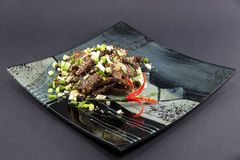 Chinese beef dish Stock Photo