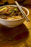 Chinese beef noodle soup Royalty Free Stock Photography