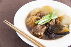 Chinese beef stew Royalty Free Stock Photos