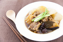 Chinese beef stew Royalty Free Stock Photography