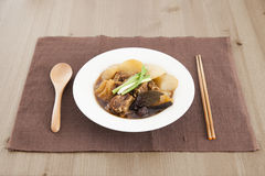 Chinese beef stew Royalty Free Stock Images