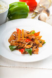 Chinese beef and vegetables Stock Photos