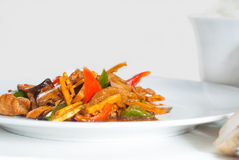 Chinese beef and vegetables Royalty Free Stock Image