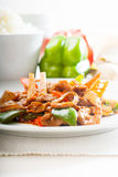 Chinese beef and vegetables Stock Photo