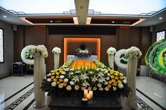 Chinese Begrafenisplaats Royalty-vrije Stock Afbeelding