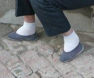 Chinese begrensde voeten Royalty-vrije Stock Fotografie