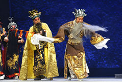 Chinese Beijing opera actors Royalty Free Stock Photos