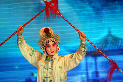 Chinese beijing opera Royalty Free Stock Images
