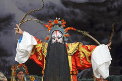 Chinese Beijing opera performer Royalty Free Stock Image
