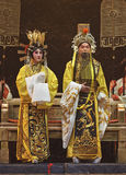 Chinese Beijing opera performers Royalty Free Stock Image
