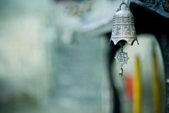 Chinese Bell. An ethnic Chinese bell in Wudang, China Stock Image