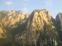 Chinese bergketen royalty-vrije stock foto