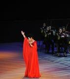 Chinese beroemde vrouwelijke zanger wenhua-TheFamous Dong en classicconcert Royalty-vrije Stock Afbeeldingen