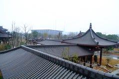 Chinese beroemdste architectuur Stock Foto
