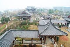 Chinese beroemdste architectuur Stock Afbeeldingen