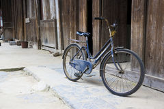 Chinese Bicycle Stock Photo