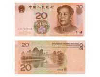 Chinese Bill Stock Images