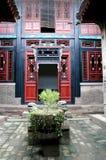 Chinese binnenplaats Royalty-vrije Stock Afbeeldingen