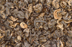 Chinese black tea as background Stock Photo