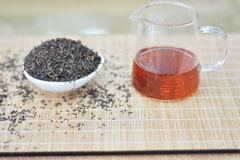 Chinese black  tea Royalty Free Stock Photography