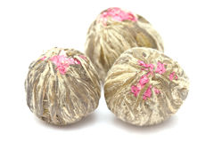 Chinese blooming tea Royalty Free Stock Images