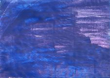 Chinese blue abstract watercolor background stock images