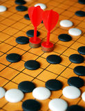 Chinese board game Go Stock Photography