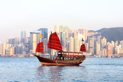 Chinese boat Royalty Free Stock Photo