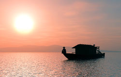 Chinese boat. Stock Photography