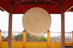 Chinese boeddhistische trommel stock foto