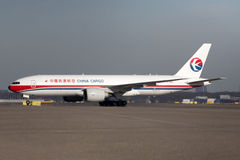 Chinese boeing 777 Royalty Free Stock Images