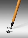 Chinese borstel-pen Royalty-vrije Stock Afbeeldingen
