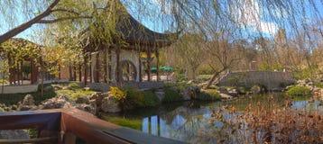 Chinese botanische tuin bij de Botanische Tuin van Huntington Stock Afbeeldingen
