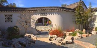 Chinese botanische tuin bij de Botanische Tuin van Huntington Stock Afbeelding