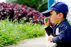 Chinese boy Royalty Free Stock Image