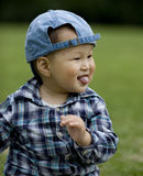 Chinese boy Stock Images