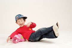 Chinese boy. You see I am more than proud Stock Photos