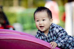 Chinese boy baby Royalty Free Stock Photo